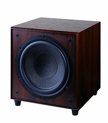 BRAND NEW Wharfedale SW-150 Active Subwoofer - Rosewood RRP $849
