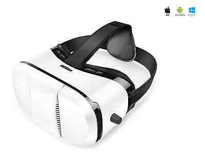 3D VR Virtual Reality Glasses Goggles Box Headset Universal Mobile Phone Gear