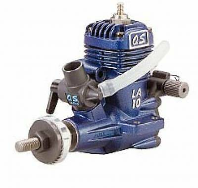 Os 10 La Rc Airplane Engine (Blue) New In Sealed Packages