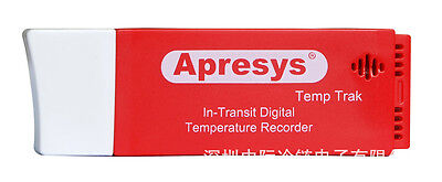 APRESYS DISPOSABLE TEMPERATURE RECORDER USB Data Logger In-Transit D50
