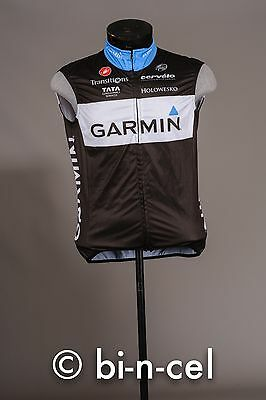 Castelli Rosso Corsa Garmin Cervelo Cycling Team Wind Vest Large