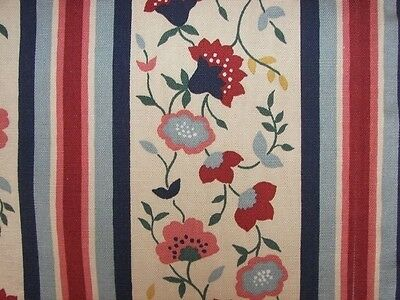 2 Pairs 4 Panels Vtg Waverly French Country Charm Floral Drapes Curtains Fabric