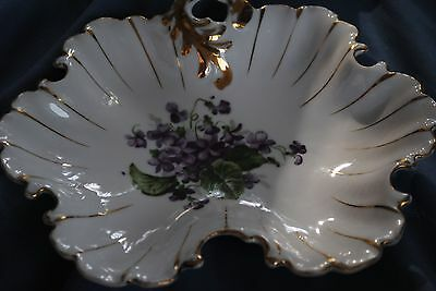 Napco Handpainted China Dish (Potter's Mark, Certified, & Numbered)