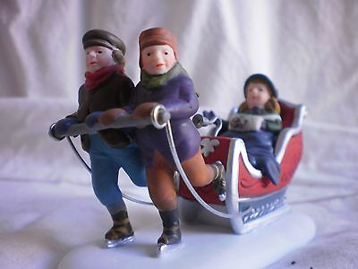 Dept 56 Winter Sleighride #58254 Heritage Dickens Village New Never displayed