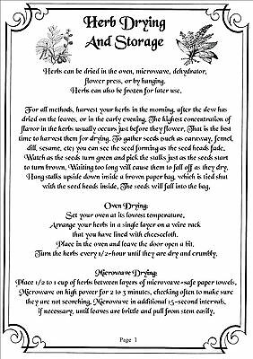 Book Of Shadows - 800+ Pages Of Printable Spells, Rituals, Crafts, Herbs & More