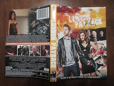 Signed Autographed DVD Cover London Payback - Matt Di Angelo, Marcus, Alan Ford