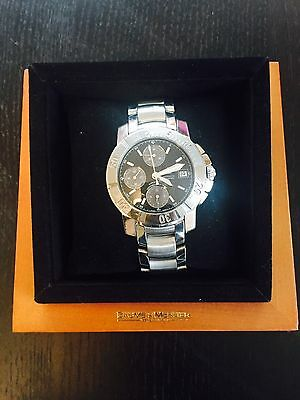 BAUME & MERCIER CAPELAND Stainless Steel Chronograph