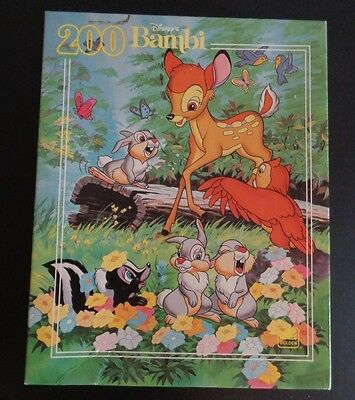DISNEY Vintage BAMBI Jigsaw Puzzle 200 Pieces NEW Golden SEALED Free Shipping