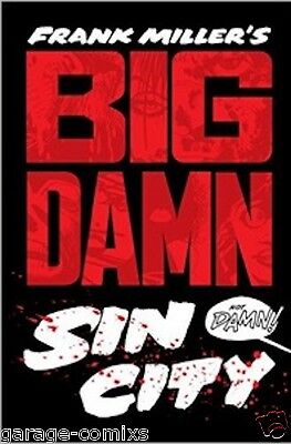 Big Damn Sin City Omnibus by Frank Miller Hardcover HC NM-1ST