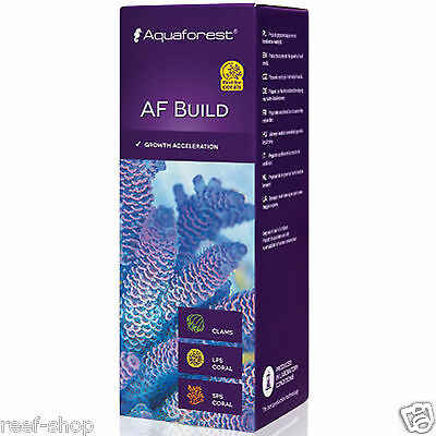 Aquaforest AF Build (Coral B) - 50ml Coral Growth Acceleration FREE USA SHIPPING