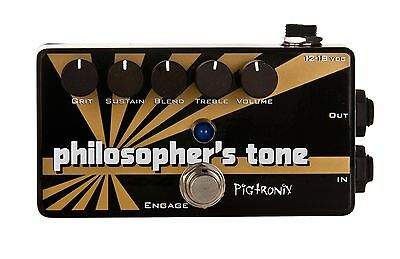 New Pigtronix Philosophers Tone Compressor with Orig. power supply &  FREE POST