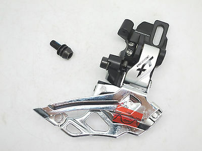 New Shimano Deore XT FD-M786-D Direct Attachment Dyna-Sys 2x10S Front Derailleur