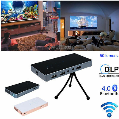 Mini Pocket HD1080P DLP LED Projector Multimedia Home Theater Cinema HDMI AV USB