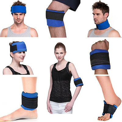 Rainbow Cold hot packs Gel Ice Pack with Wrap for knee Swelling body Recovery