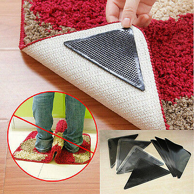 Rug Carpet Mat Grippers Non Slip Grip Pad Anti Skid Washable rutschfeste Griff