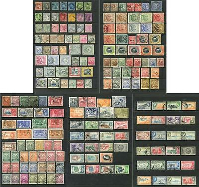 Barbados QV - QEII Selection of Used Stamps