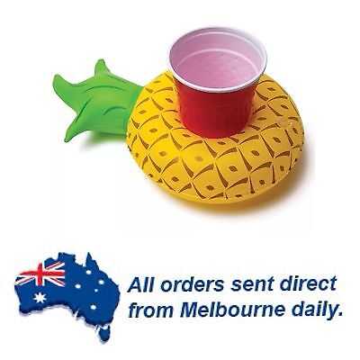 Pineapple Floating Inflatable Drink Holder Pool Party Beach