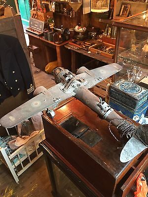 Original RAF Fighter Bomber Aeroplane With Motor Restoration Project Unique