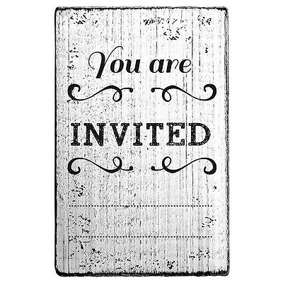 "VINTAGE STEMPEL""YOU ARE INVITED"" Design 1"