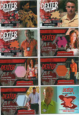 Dexter  -  Autograph Costume And Prop Card Selection NM Breygent