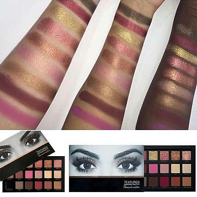 18 Colors Charm Eyeshadow Textured Pallete Faced Matte Makeup Eye shadow Palette