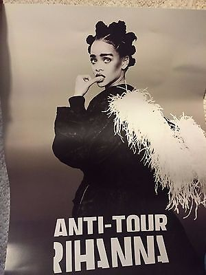 Exclusive VIP Limited Edition Rihanna ANTI Tour 18x24 Inch Poster