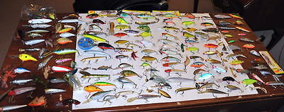 """Huge Lot Of Well Over 150+ Fishing Lures/crankbaits/topwater, """"the Mother Load"""""""