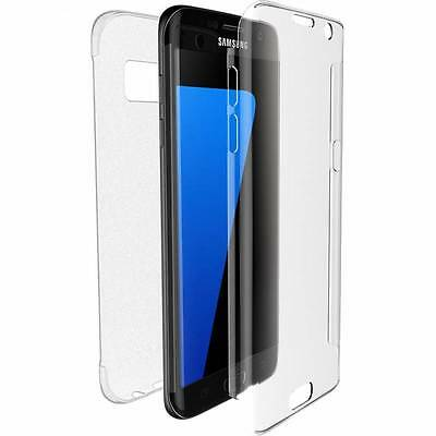 Shockproof 360° Protective Silicone Clear Gel Case Cover For Samsung Galaxy S7
