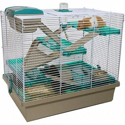 Rosewood Small Animal Pico XL Cage Translucent Teal, Extra Large Hamster Home