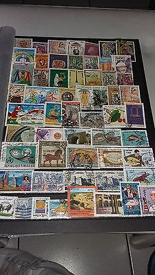 55 timbres de Tunisie (lot 5)