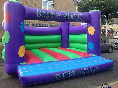 15x16 Bouncy Castle With PIPA, Blower And Stakes
