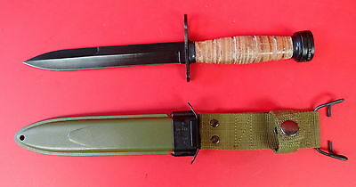 .u.s. Model M-4 Knife With M8A1 Scabbard 1943