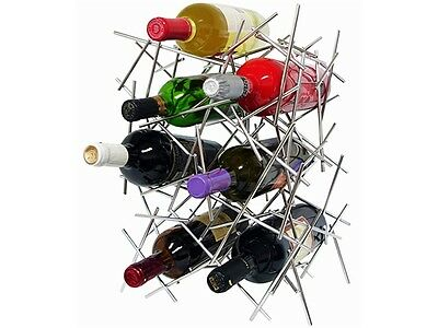 Vinotemp EP-RACK004 Epicureanist Abstract Wine Rack. Shipping Included