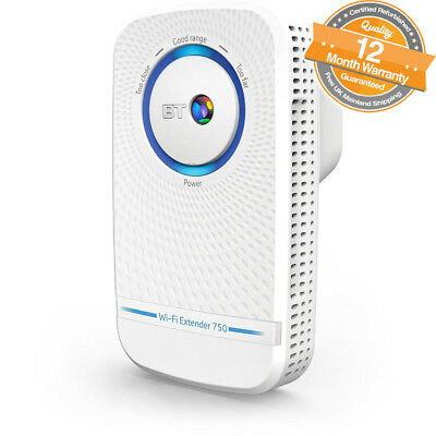 BT 11ac Dual-Band Wi-Fi Extender 750 in White