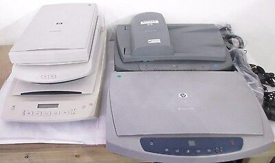 5x HP ScanJet Office Flatbed Scanners 2100c / 7650 / 4500c / 2400 / 5470c incVAT