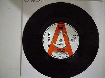 """7"""" THE PEDDLERS - WASTING MY TIME. 60's mod jazz, groovie sounds, doublesider..."""