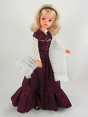 Sindy EVENING DRESS 1982 COMPLETE Outfit | No Doll | Vintage Pedigree Sindy