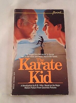 The Karate Kid 1984 Movie Book Paperback Ralph Macchio Novel Young Reader
