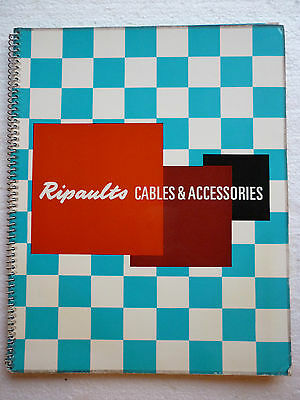 Ripaults Cables And Accessories Full Catalogue (1965 Enfield Middlesex)