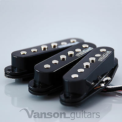 NEW Set of Wilkinson Vintage 60's Single Coil Pickups for Strat®* BLACK MWVS