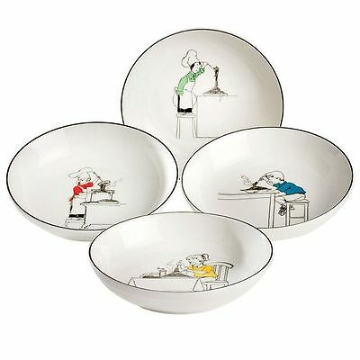 NEW Noritake Le Restaurant Pasta Bowl, 22cm (Set of 4)