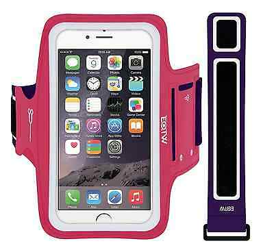 "NEW Pink Fitness Exercise Running Armband for Smartphones up to 4.7"" iPhone 6/6s"