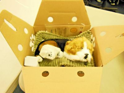 Perfect Petzz moving stuffed Beagle Brown, Black and White