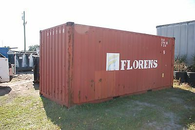 20' Used Shipping Container (Conex, Sea Van, Dry Container) In Clearwater, FL