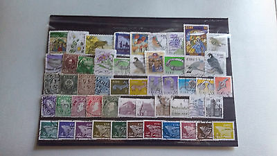 50 TIMBRES Irlande (lot1)