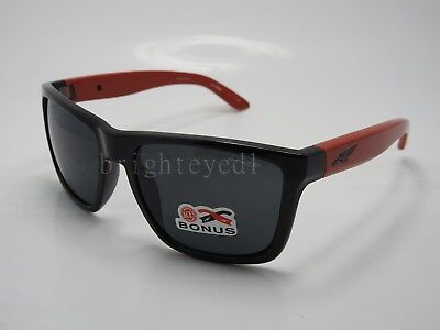 Authentic ARNETTE Witch Doctor Black Red Sunglasses AN 4177-26 - 2308 87 d410256591