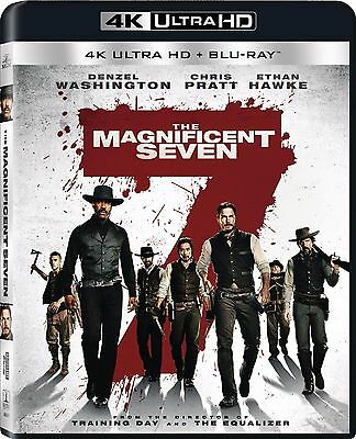 The Magnificent Seven 7 (2016)(4K Ultra HD)(UHD)(Atmos)