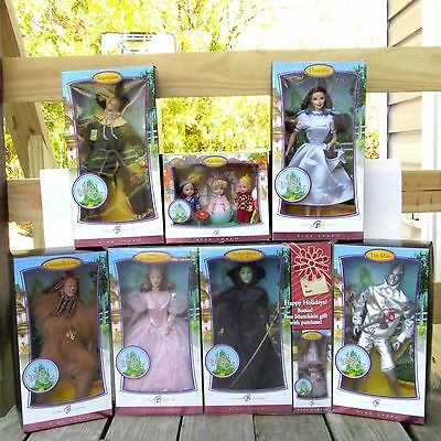 The Wizard of Oz Barbie Doll Collection Pink Label 2007 MIB NRFB