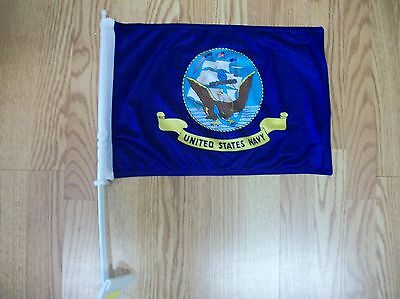 United States  Navy  Car Flag