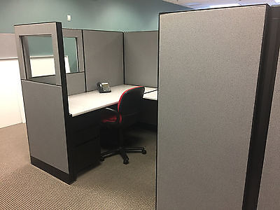 CUBICLES/PARTITIONS by STEELCASE 9000 8ft x 6ft x 65""